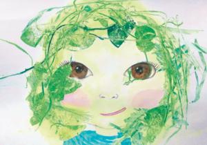 nature girl - A6 kaart